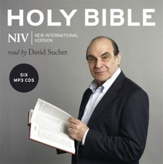 Picture of NIV FULL AUDIO BIBLE - READ BY DAVID SUCHET SIX MP3 FORMAT CDs