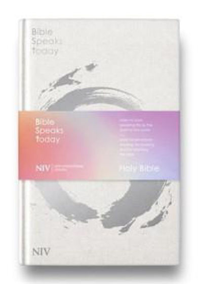 Picture of NIV BIBLE SPEAKS TODAY WHITE CLOTH HB
