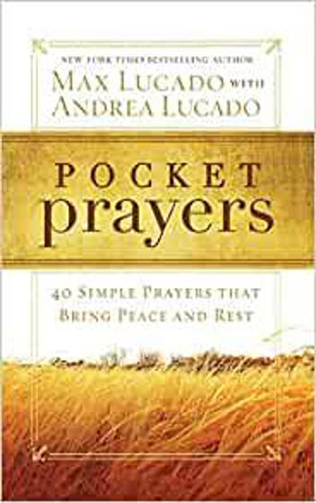 Picture of POCKET PRAYERS: 40 Simple Prayers that Bring Peace and Rest PB