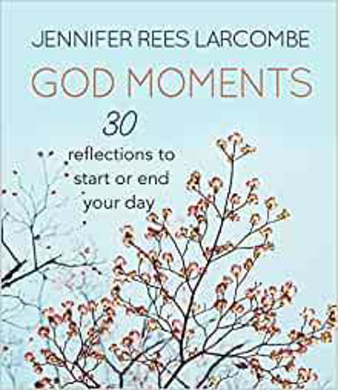 Picture of GOD MOMENTS: 30 Refelctions to Start or End Your Day HB