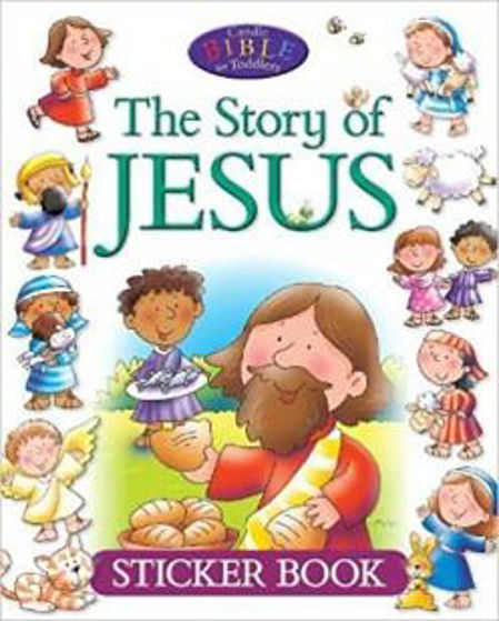 Picture of STORY OF JESUS- STICKER BOOK PB