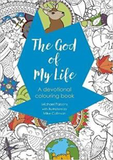 Picture of COLOURING DEVOTIONAL: GOD OF MY LIFE PB