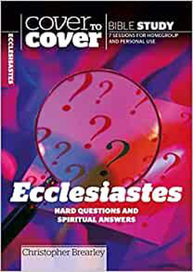 Picture of COVER TO COVER- ECCLESIASTES PB