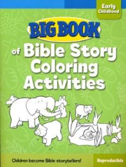 Picture of BIG BOOK BIBLE STORY COLORING...... PB