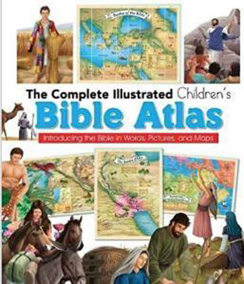 Picture of COMPLETE CHILDRENS BIBLE ATLAS HB