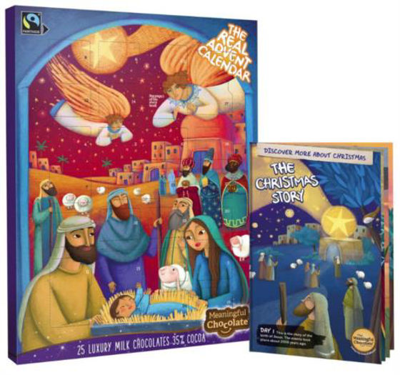 Picture of ADVENT CALENDAR- REAL MEANINGFUL CHOCOLATE