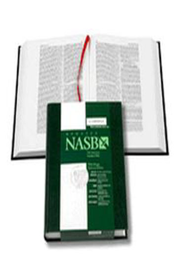 Picture of NASB WIDE MARGIN REF NS741 GREEN HB