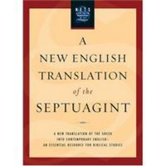 Picture of NEW ENGLISH TRANSLATION OF SEPTUAGINT HB