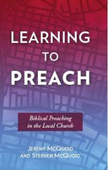 Picture of LEARNING TO PREACH PB