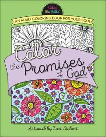 Picture of COLOR THE PROMISES OF GOD COLORING BOOK PB