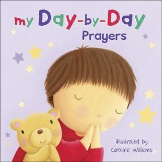 Picture of MY DAY-BY-DAY PRAYERS BOARD BOOK HB