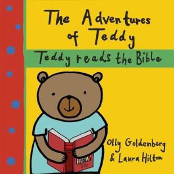 Picture of ADVENTURES OF TEDDY: Teddy Reads the Bible PB