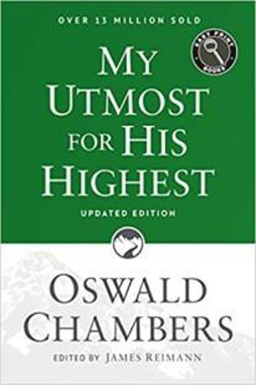 Picture of MY UTMOST FOR HIS HIGHEST UPDATED ED LARGE PRINT PB