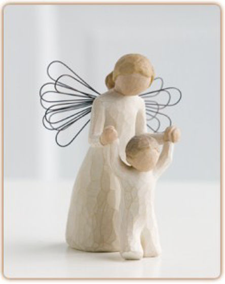 Picture of WILLOW TREE- GUARDIAN ANGEL 13CM