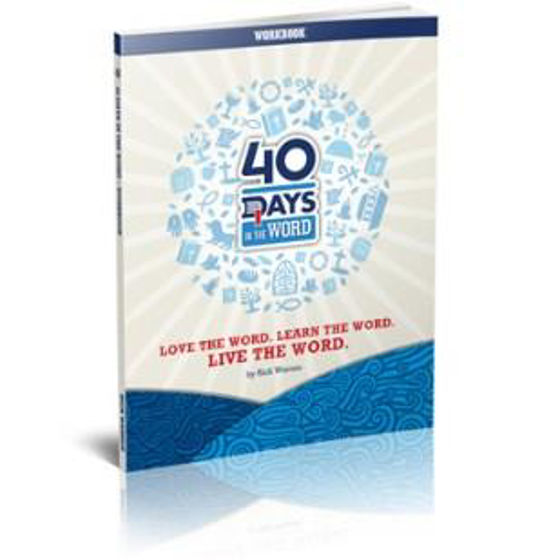 Picture of 40 DAYS IN THE WORD SMALL GROUP DVD