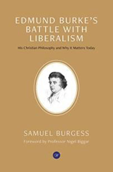 Picture of EDMUND BURKE'S BATTLE WITH LIBERALISM PB