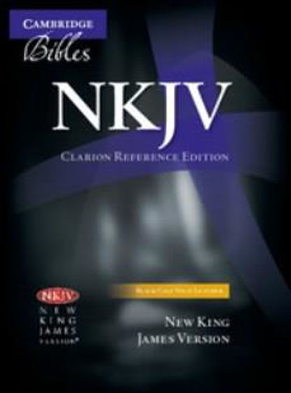 Picture of NKJ CLARION REFERENCE BLACK CALF SPLIT LEATHER