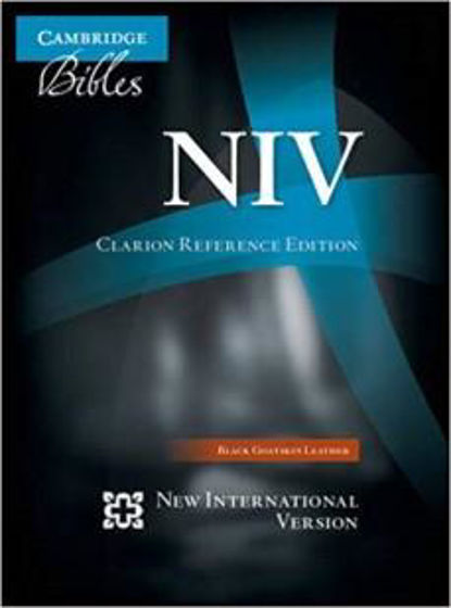 Picture of NIV CLARION REFERENCE BLACK GOATSKIN