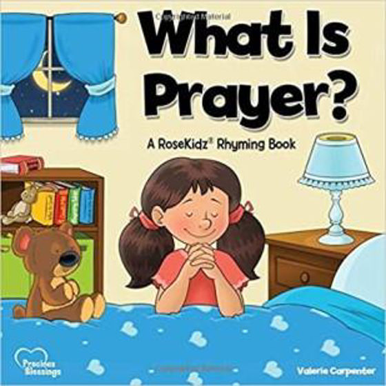 Picture of WHAT IS THE PRAYER? Rhyming Book HB