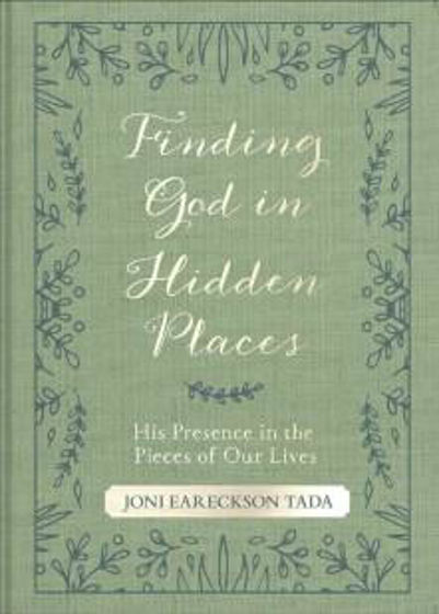 Picture of FINDING GOD IN HIDDEN PLACES: His Presence in the Pieces of Our Lives PB