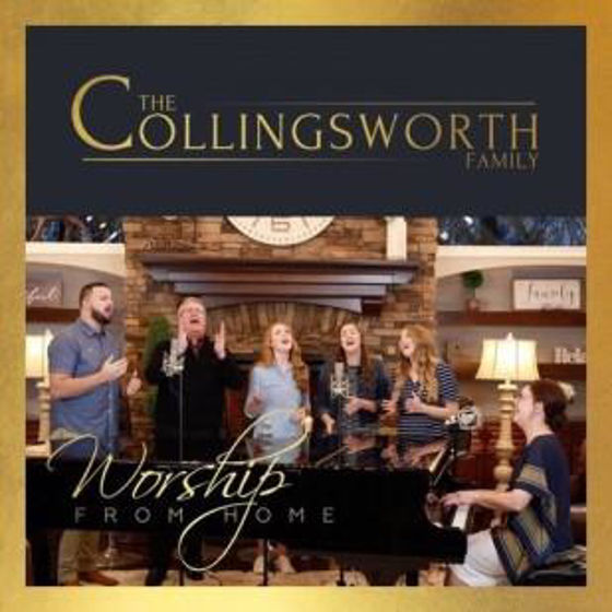 Picture of WORSHIP FROM HOME: COLLINGSWORTH FAMILY CD