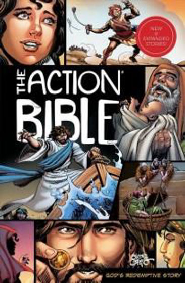 Picture of ACTION BIBLE NEW  & EXPANDED EDITION HB