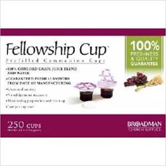 Picture of FELLOWSHIP CUP & SOFT WAFER BOX OF 250