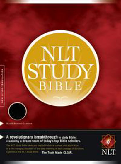 Picture of NLT STUDY BIBLE BLK BLTH TI