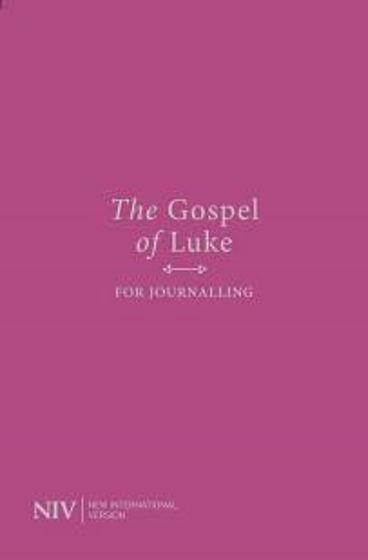 Picture of NIV GOSPEL OF LUKE FOR JOURNALLING: PINK/PURPLE COVER PB