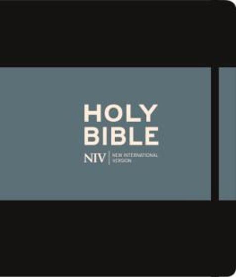 Picture of NIV JOURNALING BIBLE BLACK HB