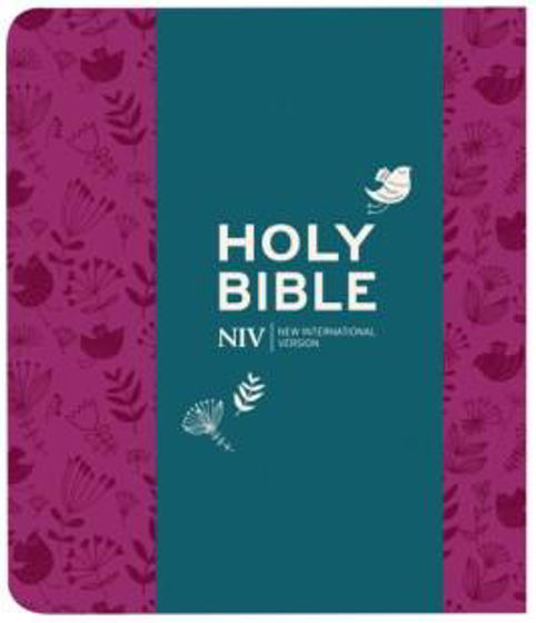 Picture of NIV JOURNALING BIBLE PLUM SOFT TONE
