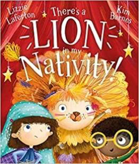 Picture of THERES A LION IN MY NATIVITY PB