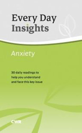 Picture of EVERY DAY INSIGHTS: ANXIETY PB