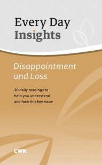 Picture of EVERY DAY INSIGHTS: DISAPPOINTMENT AND LOSS PB