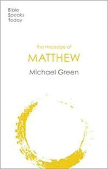 Picture of BIBLE SPEAKS TODAY COMMENTARY - MATTHEW PB