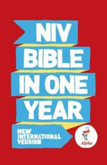 Picture of NIV ALPHA BIBLE ONE YEAR PB PACK OF 10