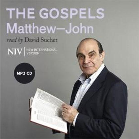 Picture of NIV GOSPELS: ALL FOUR MP3 CD