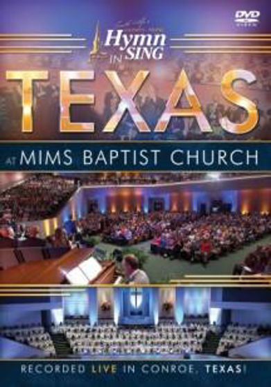Picture of GOSPEL MUSIC: HYMN SING IN TEXAS MIMS BAPTIST CHURCH DVD