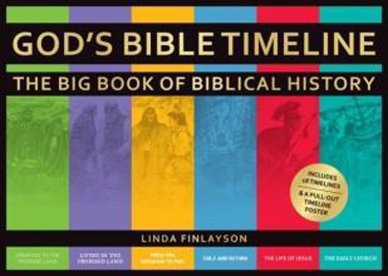 Picture of GODS BIBLE TIME LINE: Big Book Of Biblical History HB