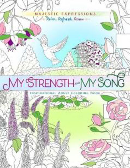 Picture of COLOURING BOOK- MY STRENGTH AND MY SONG PB