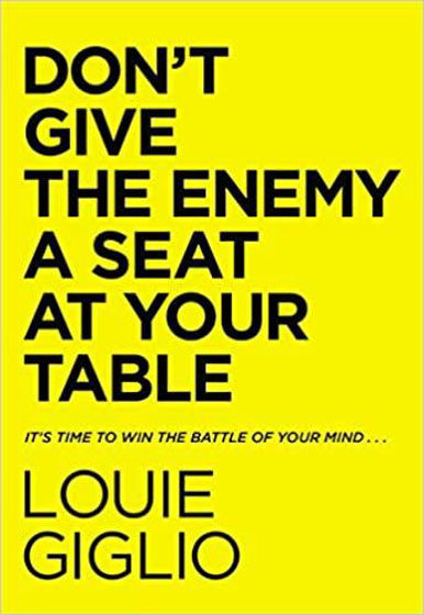 Picture of DON'T GIVE THE ENEMY A SEAT AT YOUR TABLE HB
