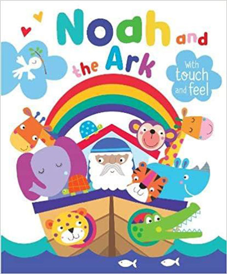 Picture of NOAH & THE ARK BOARD BOOK TOUCH & FEEL
