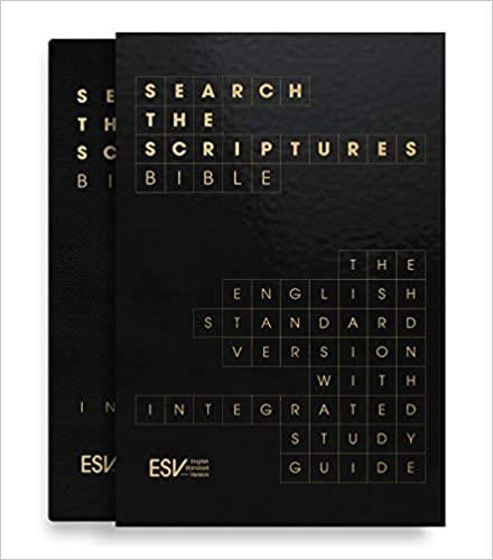 Picture of ESV SEARCH THE SCRIPTURES BLK BLTH