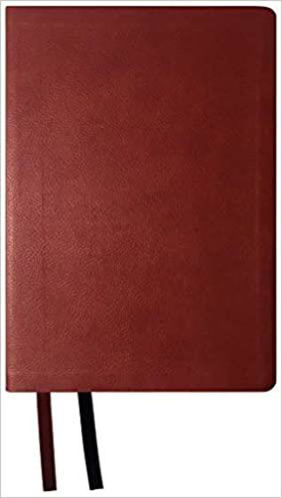 Picture of NASB 2020 ULTRATHIN REFERENCE LP BURGUNDY IMITATION LEATHER