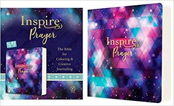 Picture of NLT INSPIRE JOURNALLING PRAYER PB