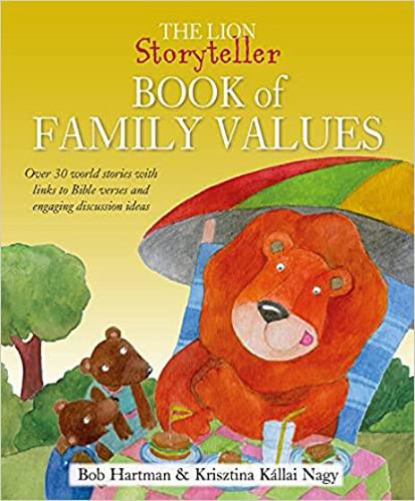 Picture of LION STORYTELLER FAMILY VALUES: Over 30 world stories with links to Bible verses and engaging discussion ideas HB