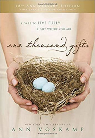 Picture of ONE THOUSAND GIFTS 10TH ANNIVERSARY EDITION: A Dare to Live Fully Right Where You AreHB