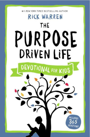Picture of THE PURPOSE DRIVEN LIFE DEVOTIONAL FOR KIDS PB