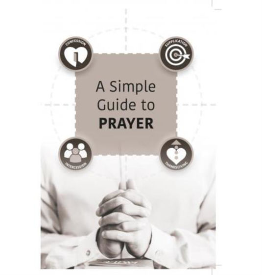 Picture of A SIMPLE GUIDE TO PRAYER PB