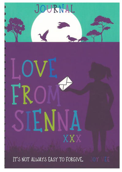 Picture of JOURNAL- LOVE FROM SIENNA SPIRAL NOTEBOOK